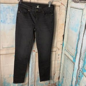 J Crew Factory Valley Wash Skinny Jeans